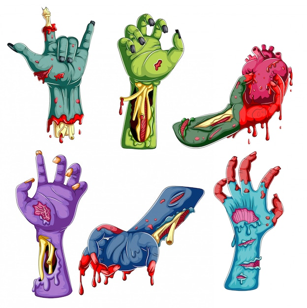 Zombie Background Rocker