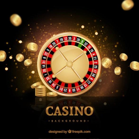 Premium Vector | Casino golden background
