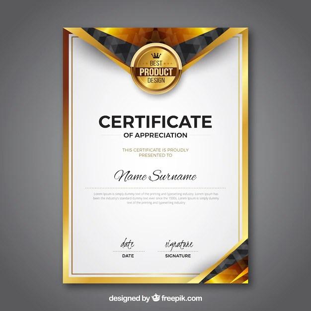 Award Certificate Vectors Photos And PSD Files Free
