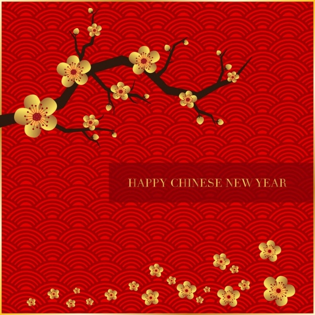 happy chinese new year background