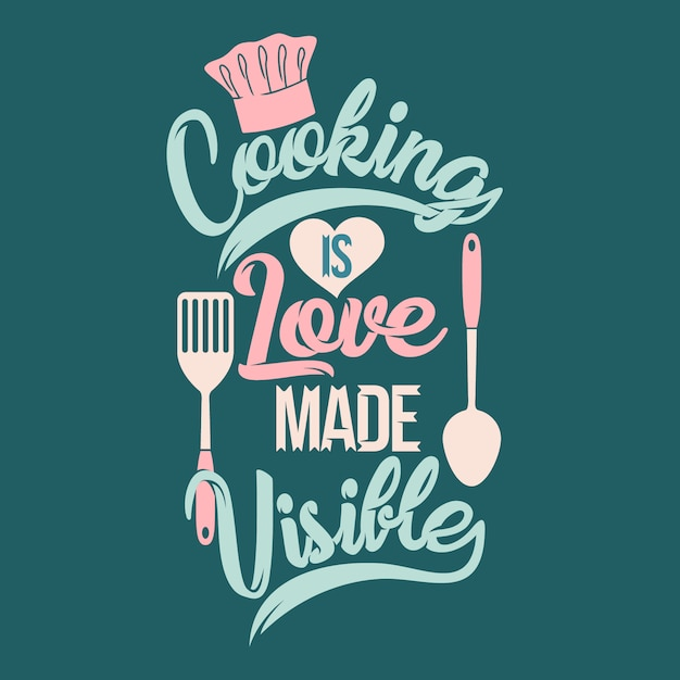 Download Cooking is love made visible. cooking sayings & quotes ...