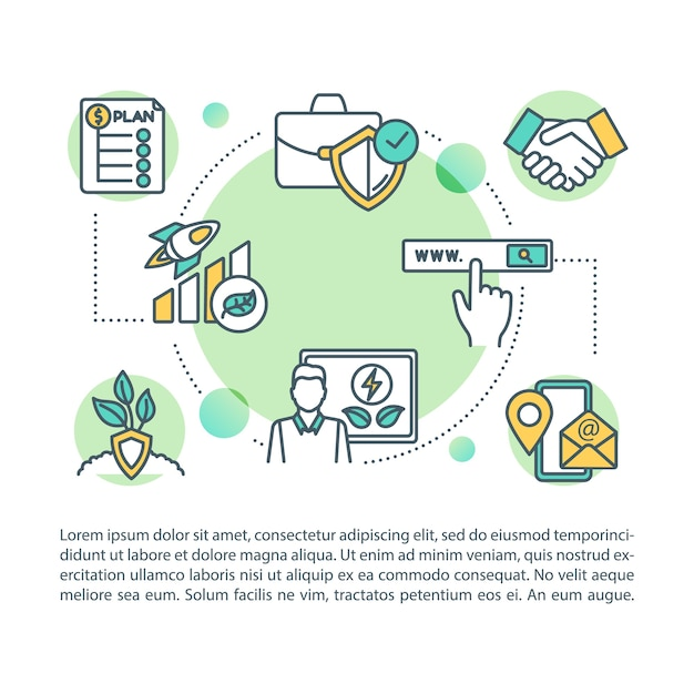 It's become a yearly tradition. Premium Vector Cost Savings Concept Icon With Text Expenditure Financial Plan Ecological Enterprise Ppt Page Template Brochure Magazine Booklet Element With Linear Illustrations