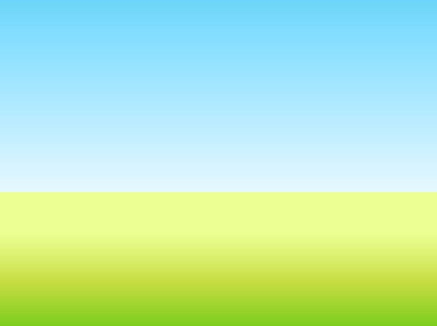 Countryside Grass Sky Vector Field Vector Free Download