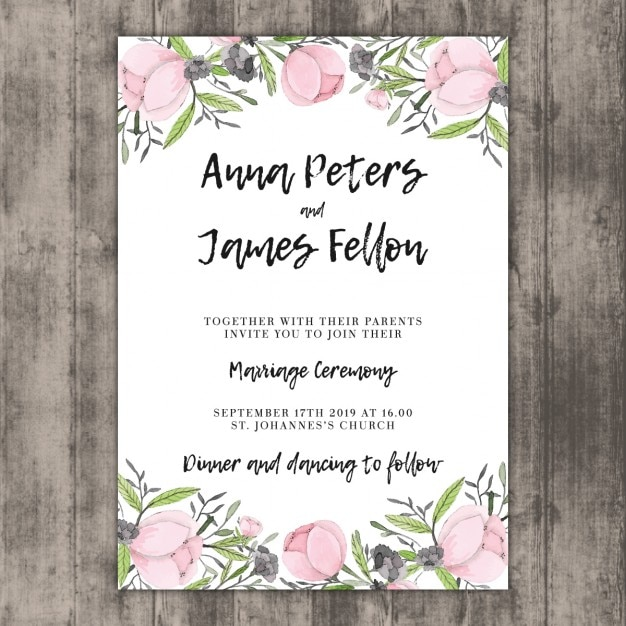 Marriage Invitation Card Edit Online