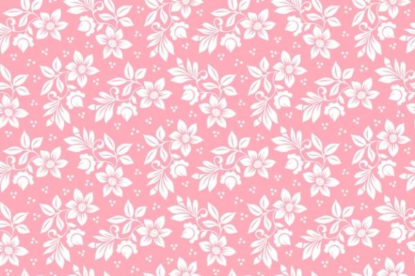 Flower seamless pattern background elegant texture for
