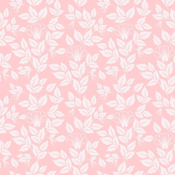 Flower seamless pattern background Vector Free Download