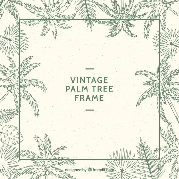 Palm Tree Photo Frame Framess