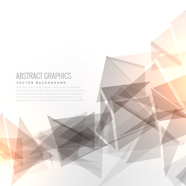 Geometric background with light effect Vector   Free Download Geometric background with light effect Free Vector