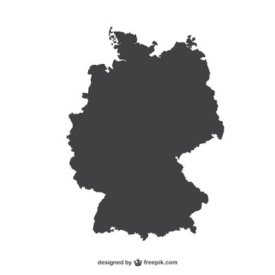 Germany silhouette Vector   Free Download Germany silhouette Free Vector