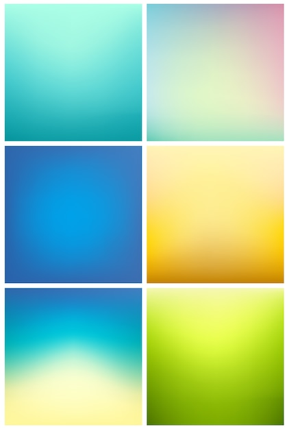 Gradient Background Collection Vector Free Download