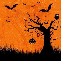halloween background vector art