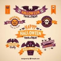 free halloween birthday banner