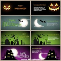 halloween picture cards free