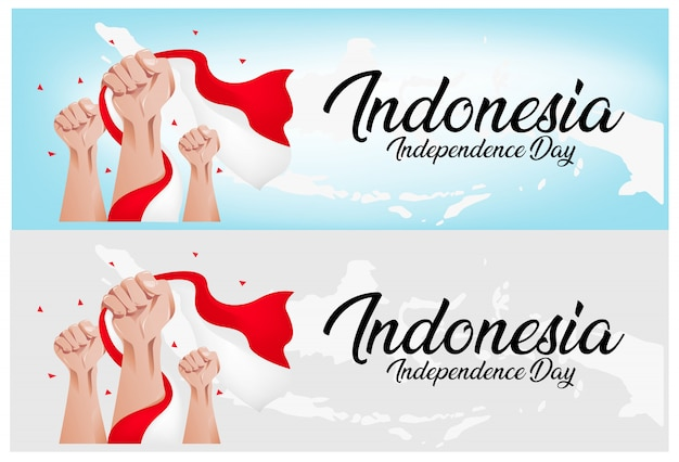 Premium Vector Indonesia Independence Day Background