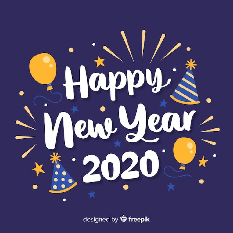 Happy New Year 2020 Images | Free Vectors, Stock Photos & PSD