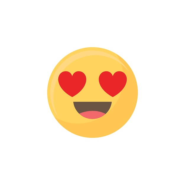 Download Love emoji Vector   Free Download