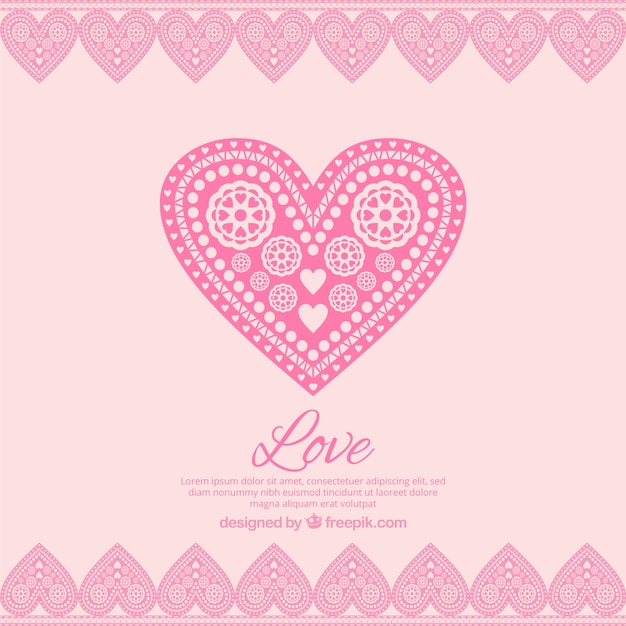 Download In love pink background Vector | Free Download