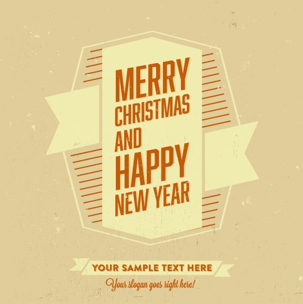 Merry christmas and happy new year template Vector   Free Download merry christmas and happy new year template Free Vector