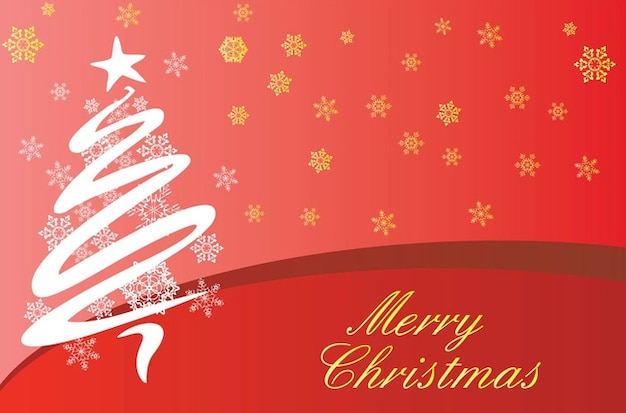 Merry Christmas Greetings Vector Free Download