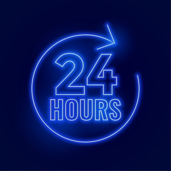 Free 24 Hours Service Vectors, 400+ Images in AI, EPS format