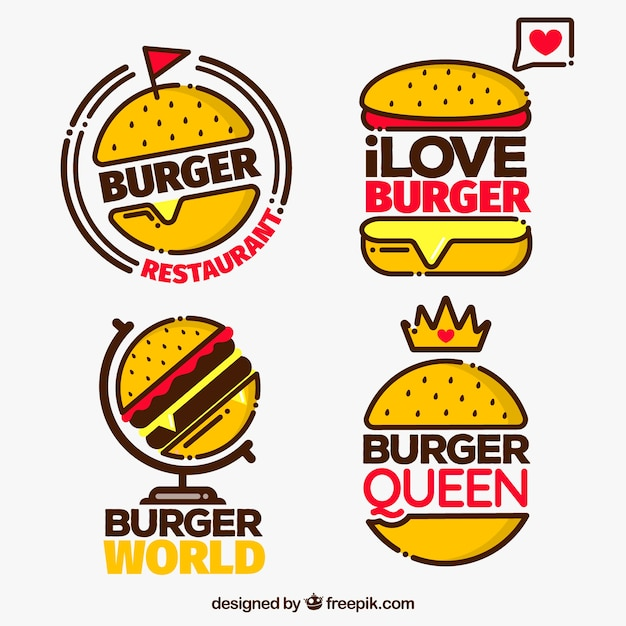 Burger Restaurant Logos And Names