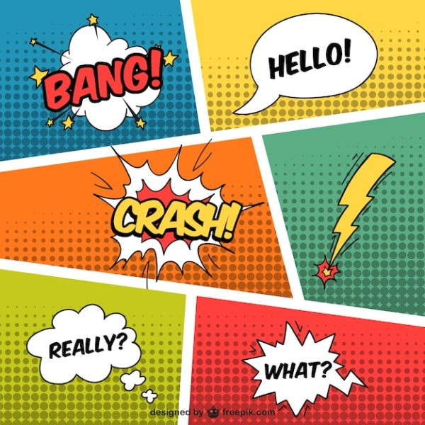 Comic Vectors Photos and PSD files Free Download