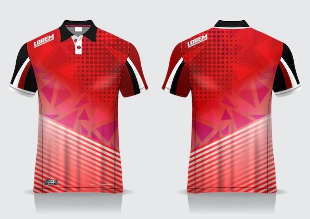 Download Premium Vector | T-shirt polo sport design, badminton ...