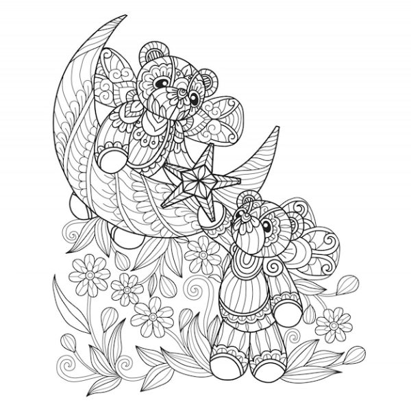 bears coloring pages # 22
