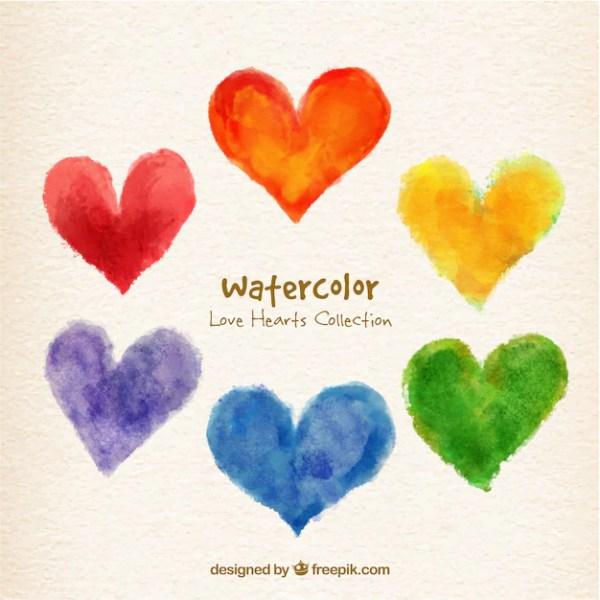 hearts colors # 45
