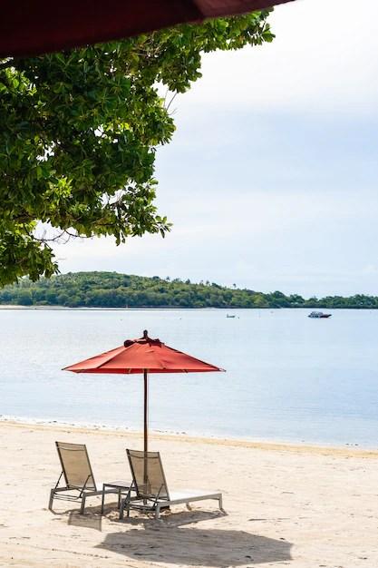 mer tropicale en plein air de plage