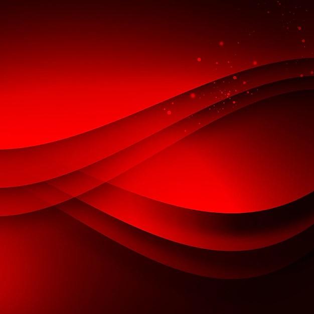 Fondo Rojo Ondulado Descargar PSD Gratis