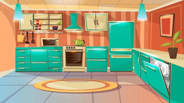 cuisine moderne salle a manger