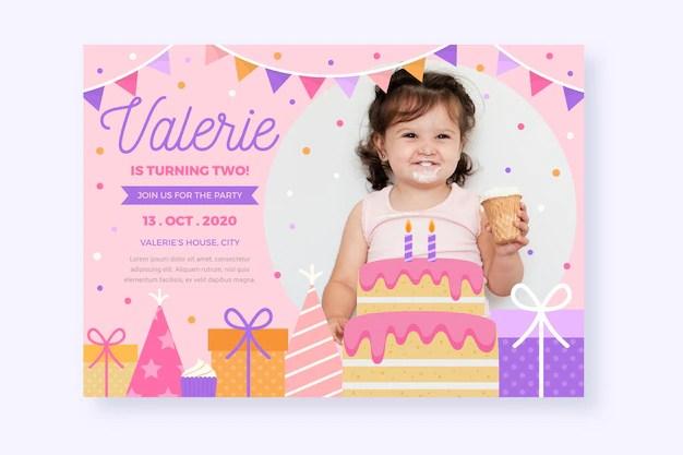 carte d anniversaire pour enfants