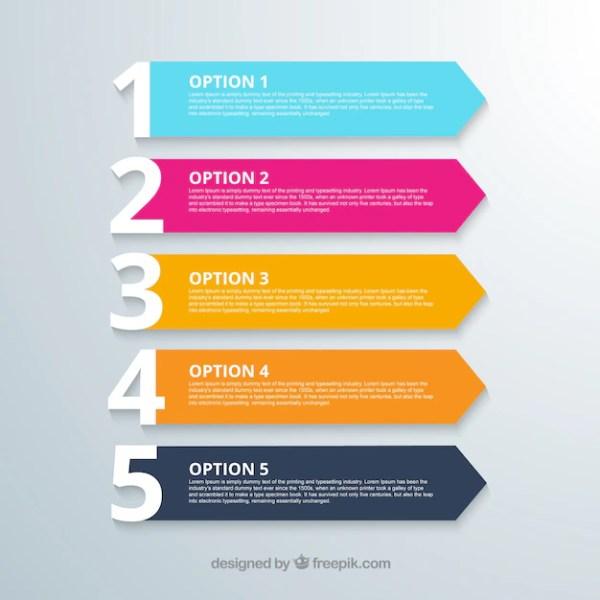 Opções banners | Baixar vetores grátis