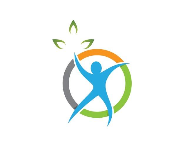 Illustrazione Di Simbolo Di Salute Umana