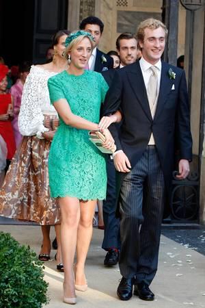 Prince Joachim (à droite, ici avec sa sœur la princesse Maria-Laura).