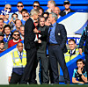 Jose Mourinho (right) had several run-ins with legendary ex-Arsenal manager Arsene Wenger.