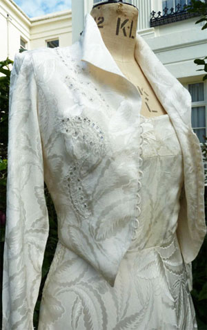 1940s Fashion Wedding Dresses And Trousseaus