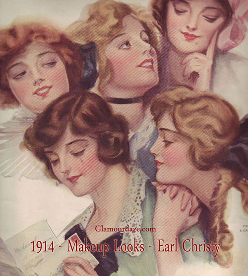 History Of 1900 S Makeup To 1919