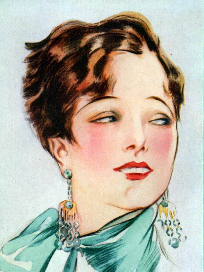 Make-up Advice to Flappers 1925 | Glamourdaze