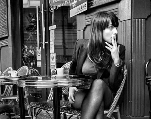 2011--Parisienne-au-Cafe-de-Montmartre---Christphe-Lecoq
