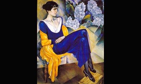 Nathan Altman's portrait of Anna Akhmatova