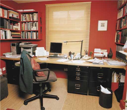 Writers' rooms: Graham Swift