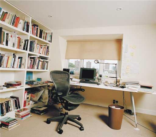 Writers' rooms: Alain de Botton