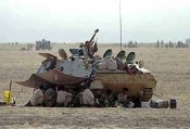Iraqi armored vehicle