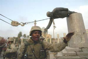 Toppling Saddam statue | guardian.co.uk