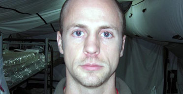 Micah Brose, privately contracted interrogator working for US forces in Iraq