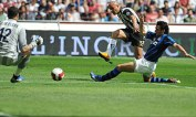 Massimo Maccarone, Siena scores against Inter