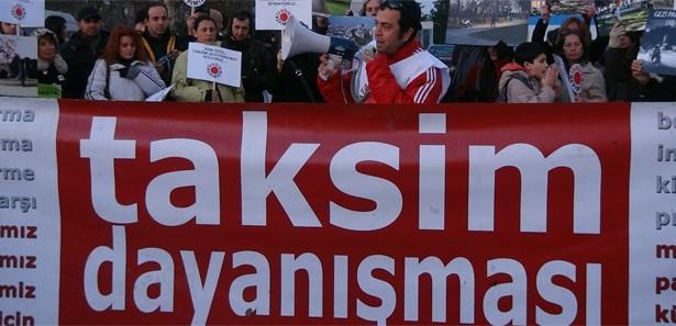Taksim Dayanışması'ndan tehdit!
