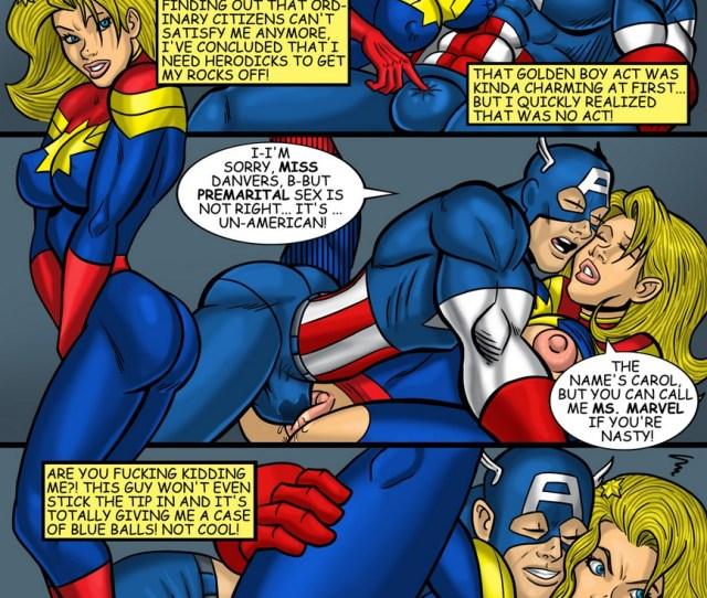 Captain Marvel Comic Porn Hd Porn Comics